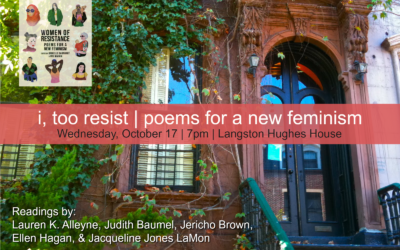 i, too resist | poems for a new feminism